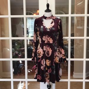 Ivanka Trump Purple Dress
